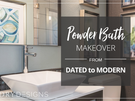 Powder Bath Makeover: From Dated to Modern