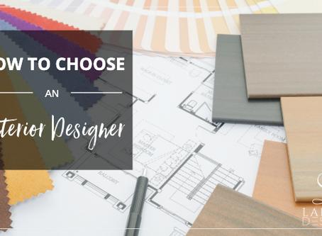 5 Tips for Choosing an Interior Designer in Dallas-Fort Worth, TX
