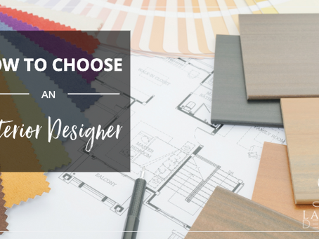 5 Tips for Choosing an Interior Designer in Dallas-Fort Worth, TX