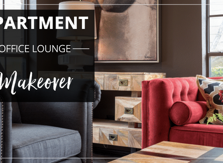 Apartment Office Lounge Makeover