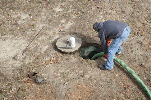 Septic Tanks System Installing