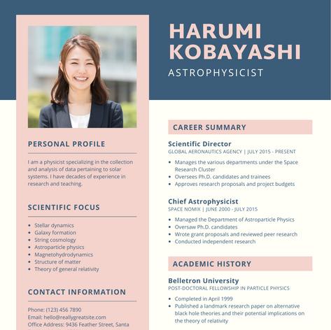 Resume Sample