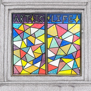 Window Art Activity: Stained Glass Window Painting