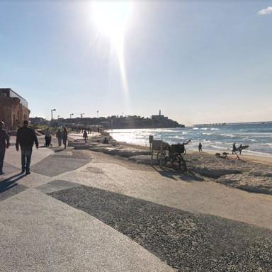 Tel Aviv Beach Promenade
