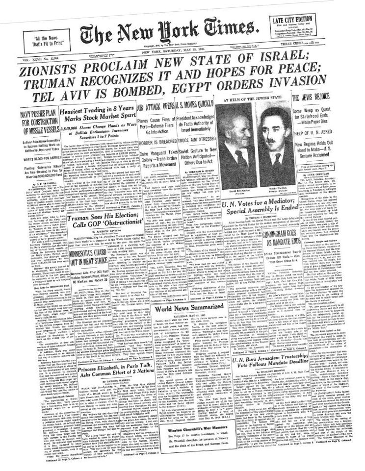 New York Times | May 15, 1948