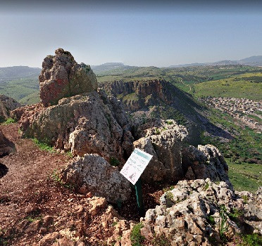 View from Mt Arbel