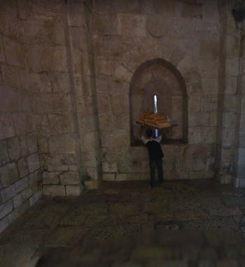 Old Jaffa Gate - Inside View