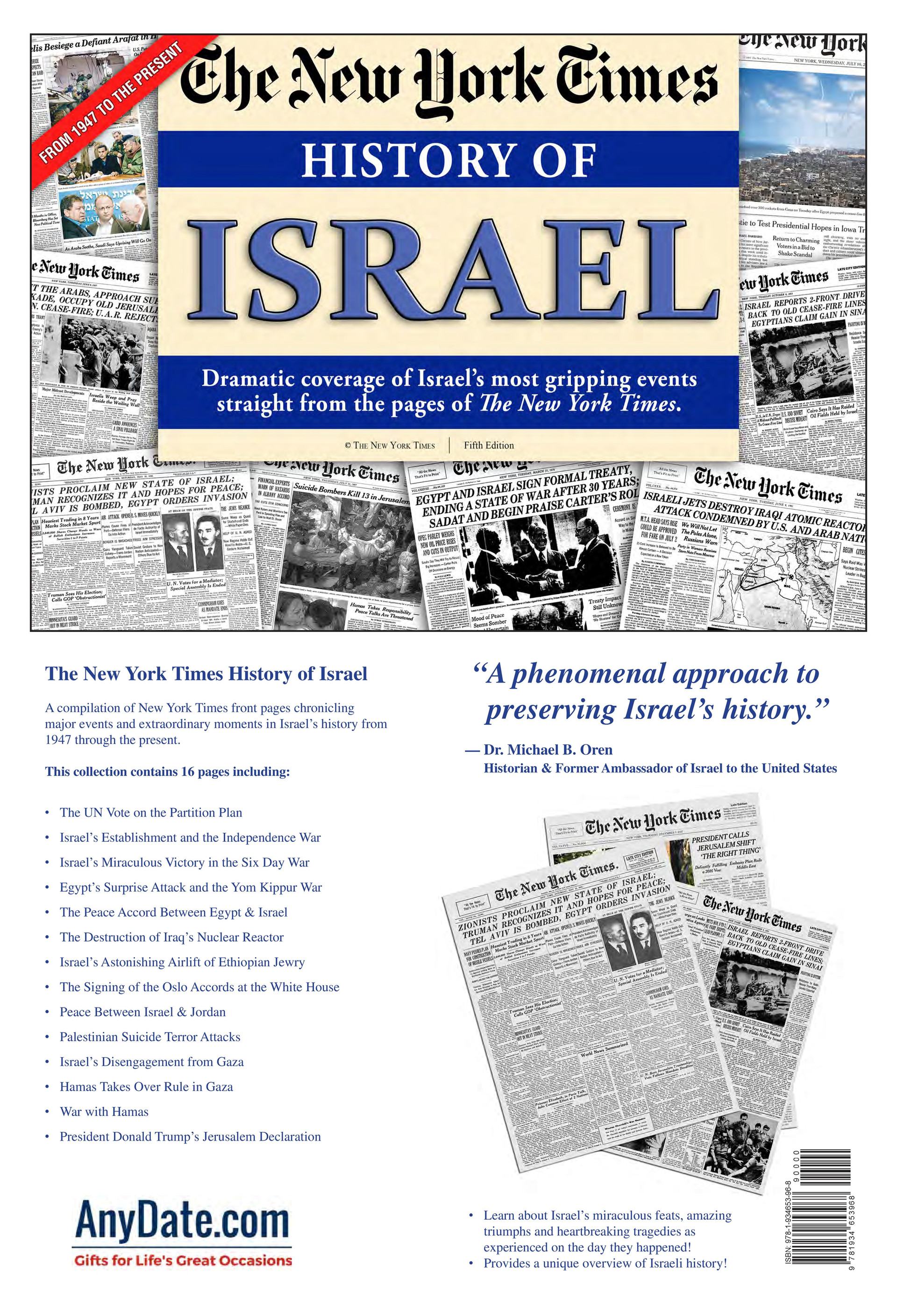 New York Times | History of Israel