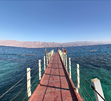 Coral Beach on the Red Sea