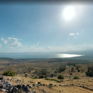 Sea View from the Golan