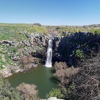 Irusim Falls - Golan
