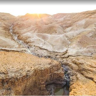 Tzifira Pool in the Desert