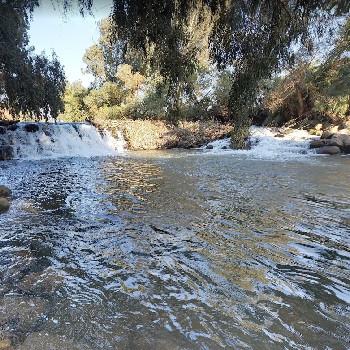 Jordan River Waterfall