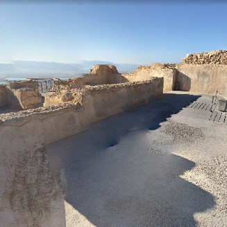 Masada - View from the Northern Palace