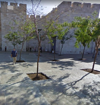Outside of the Jaffa Gate - Old City