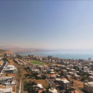 Tiberias in Summer