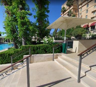 King David Hotel - Pool & Balcony