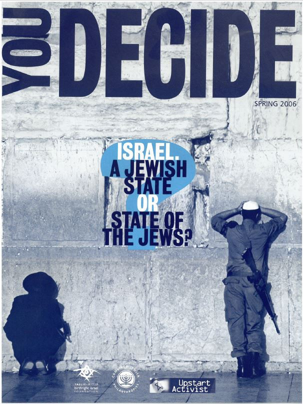 You Decide - Jewish State