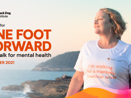 Join Us: One Foot Forward for Mental Health in October