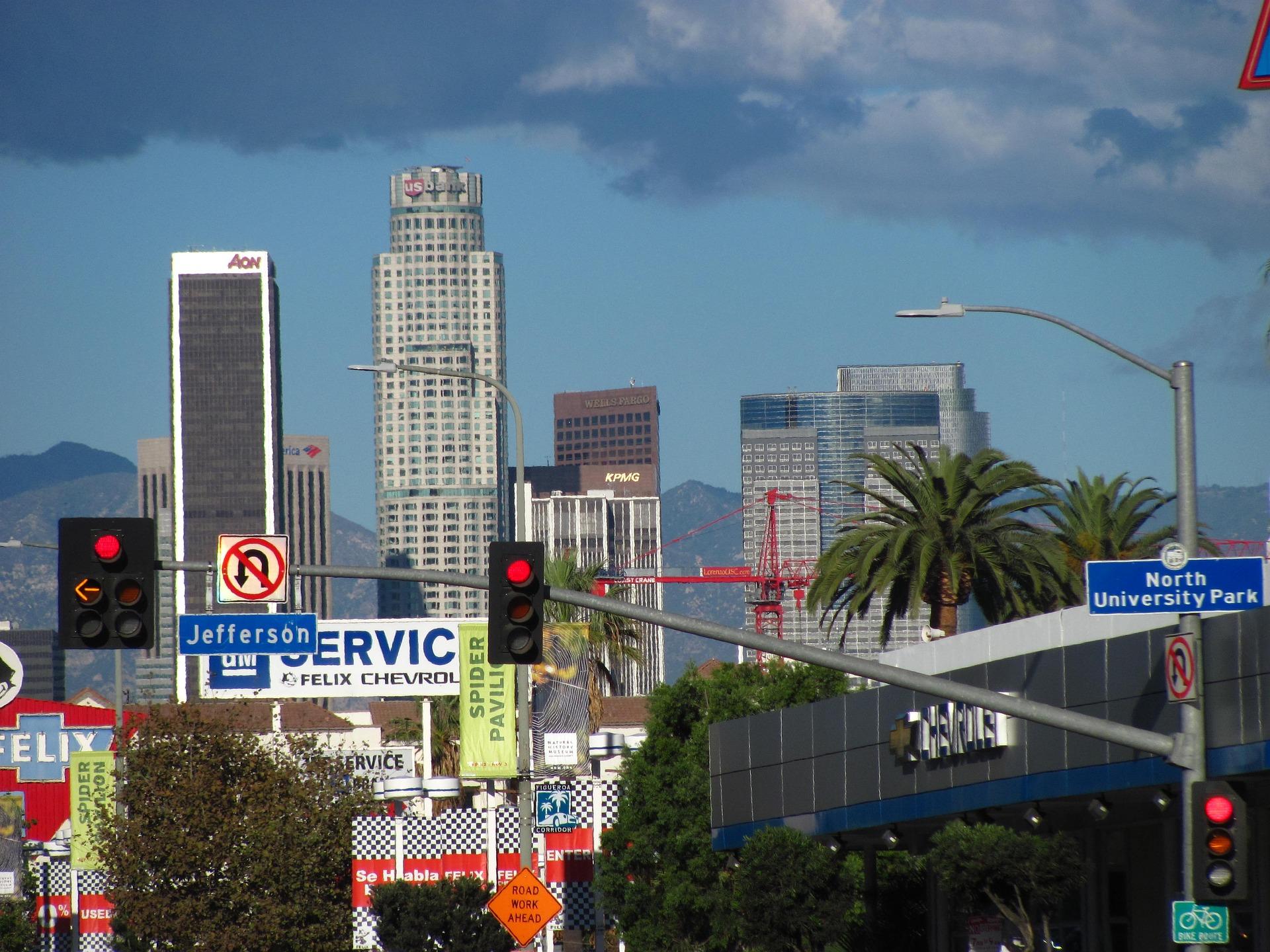 מפת לוס אנג׳לס