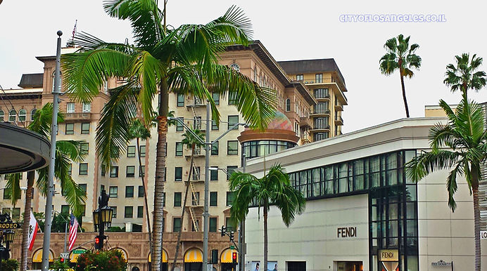 מלון בברלי הילס Cityoflosangeles.co.l