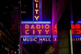 Radio city Music Hall Cityofnewyork.co.il