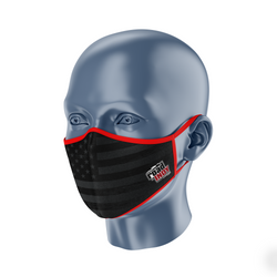 Indy Cooper Face Mask Side View
