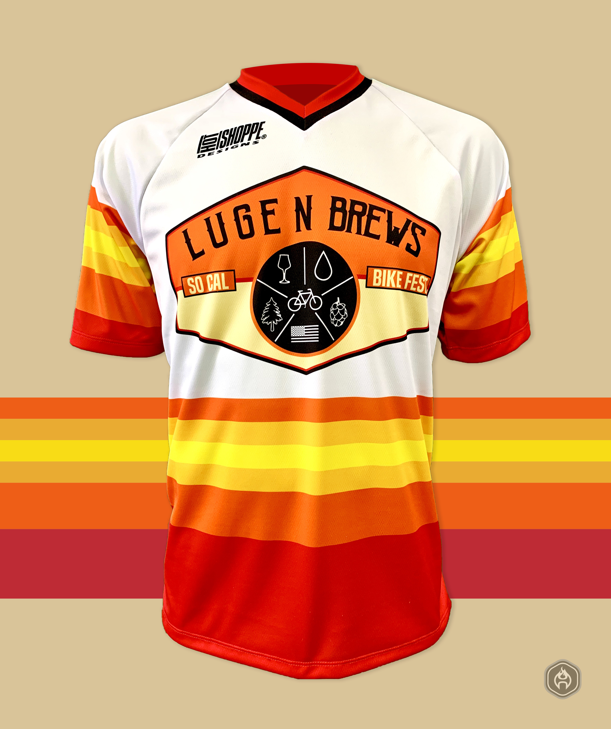 Luge N Brews Jersey Instagram