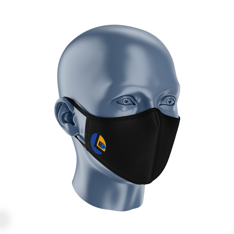 Legends Mockup Facemask 3Quarter