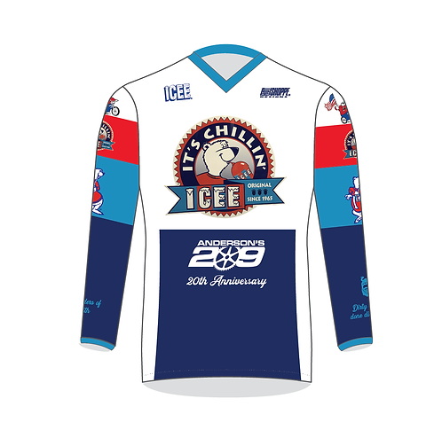 ICEE Anderon's 209 BMX Jersey with Name