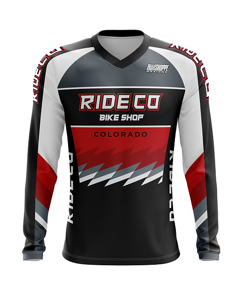 RideCo Pro Fit BMX Jersey