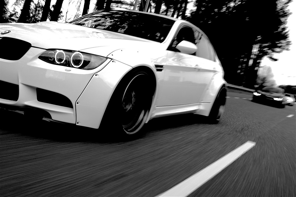 SCL Racing widebody BMW m3 driving