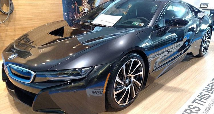 SCL Racing at BMW of Devon purchasing a new BMW i8