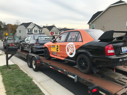 Moving day for SCL Racing | Virginia