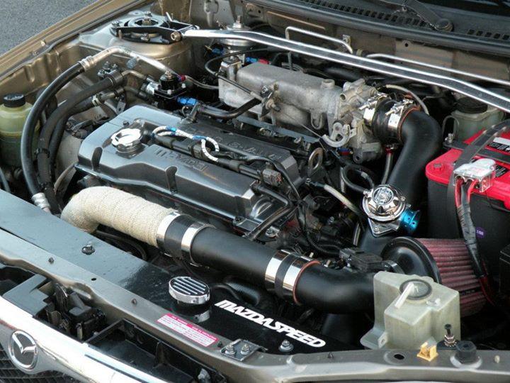 Rally Mazda Protege Engine