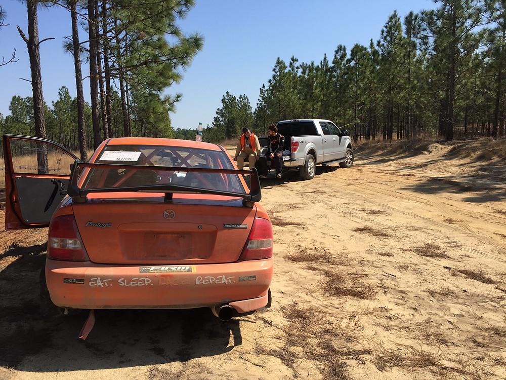 SCL Racing Rally Mazda Protege Sandblast 2017