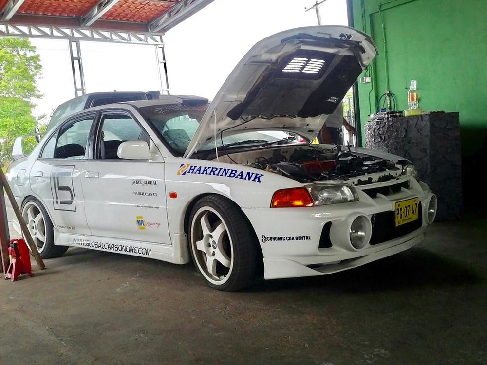 SCL Racing Mitsubishi EVO IV Drag Race Car