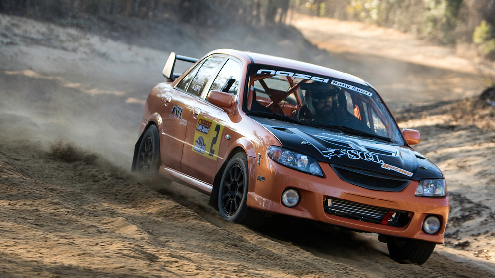 SCL Racing Orange Rally Mazdaspeed Protege