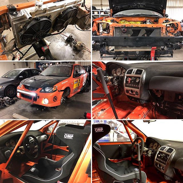 SCL Racing Rally Mazda Protege