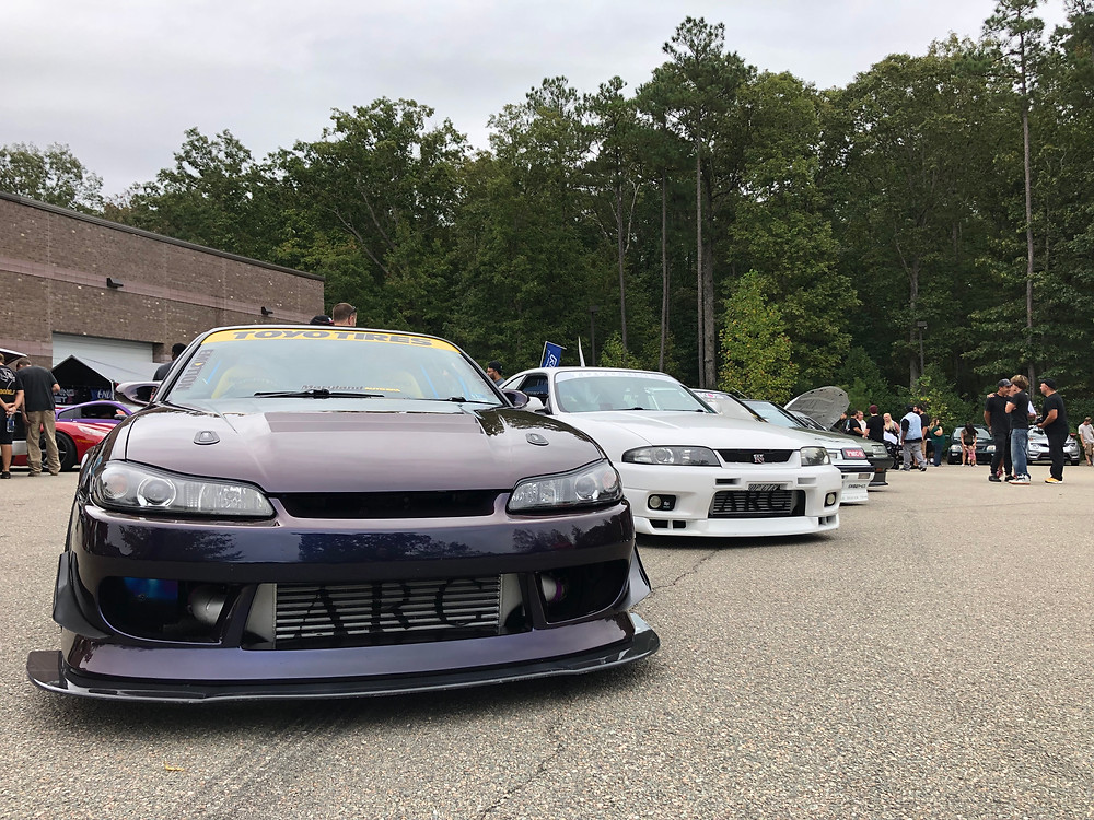 Nissan Silvia S15 and Nissan GTR R33