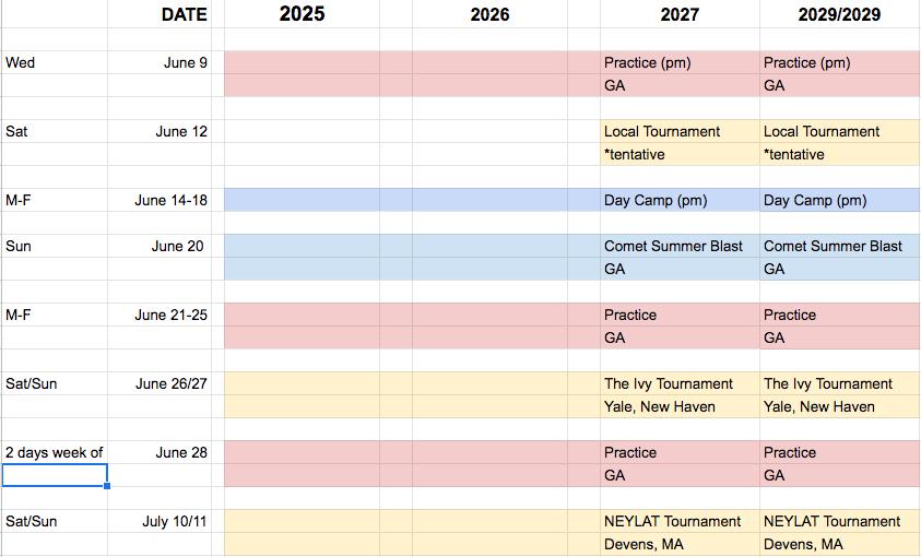 Comet schedule.png