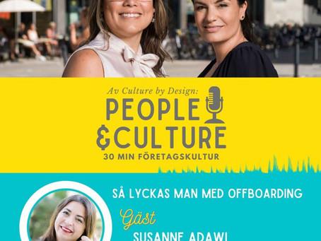 Adawi pratar offboarding i podden People & Culture