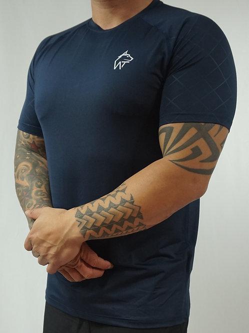WOLF TITAN Classic Fitness 1 T-Shirt -Dark Blue