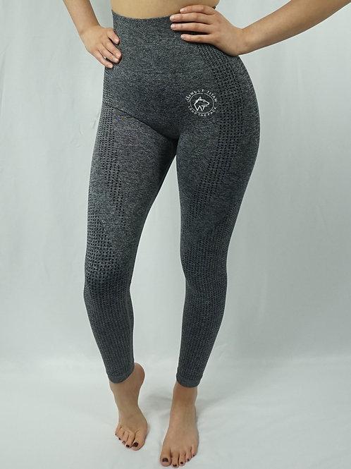 OMEGA Seamless Active Leggings - Charcoal Grey