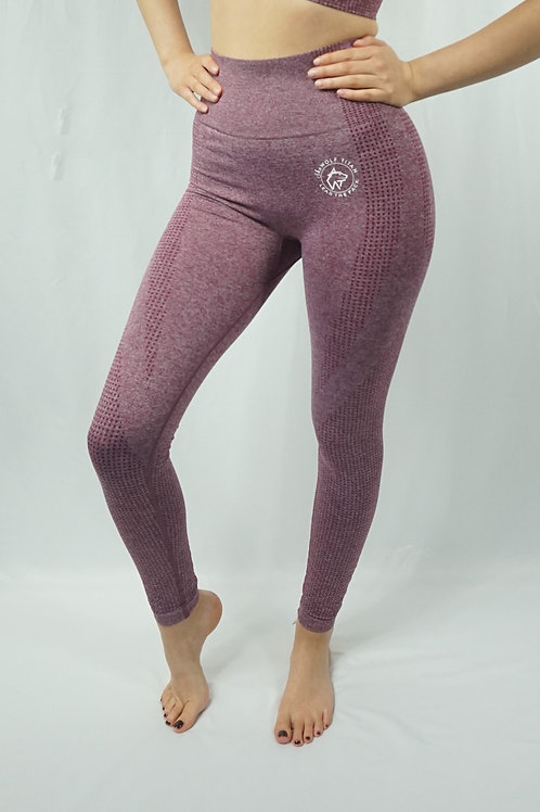 OMEGA Seamless Active Leggings - Ox Blood