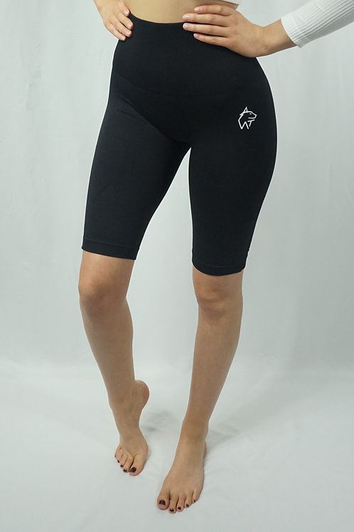 LUNA Seamless Active Shorts - Black