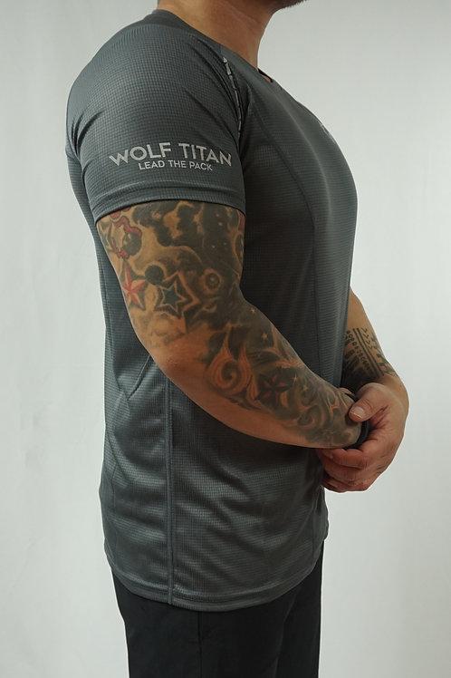 WOLF TITAN Classic Fitness 3 T-Shirt - Grey