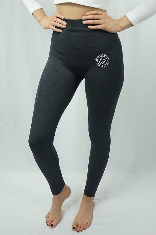 BETA Raised Seamless Active Leggings - Black