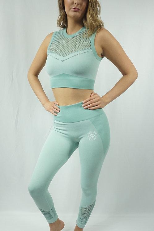 DYNAMICS Workout Leggings Set - Apple Green