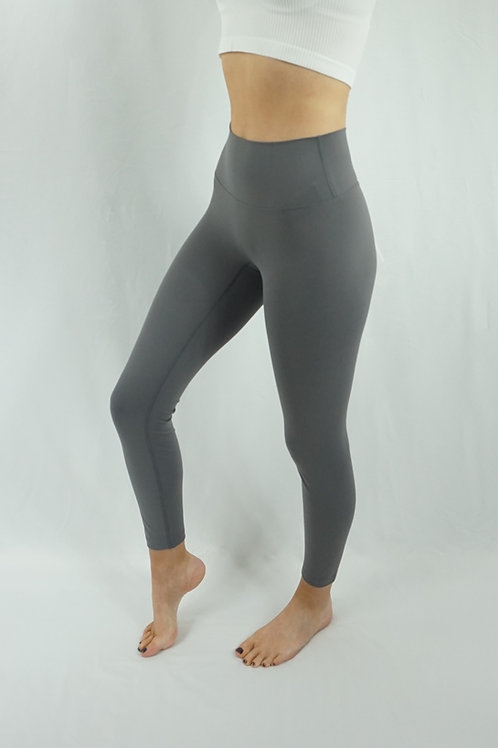 ALPHA Super Soft Dark Grey-Brown Leggings